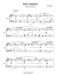 Franck: Panis Angelicus for Flute & Piano