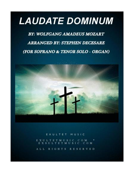 Laudate Dominum (Duet for Soprano & Tenor Solo - Organ Accompaniment)