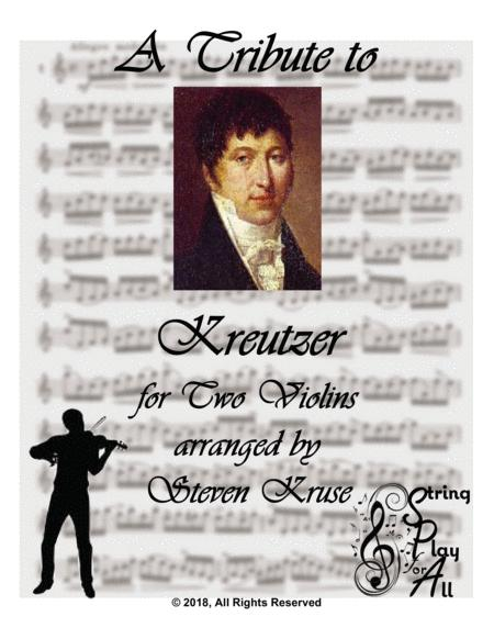 A Tribute to Kreutzer for Two Violins