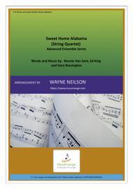 Sweet Home Alabama for String Quartet