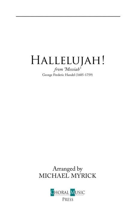 Hallelujah! (Handel) Key Bb