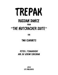 Trepak from The Nutcracker Suite for Two Clarinets