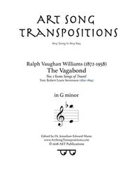 The Vagabond (G minor)