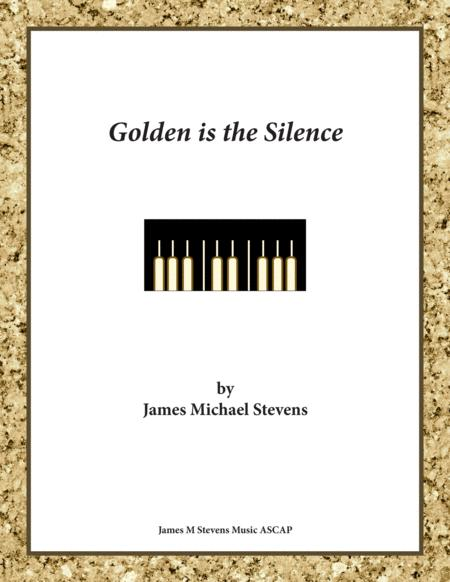 Golden is the Silence - Reflective Piano