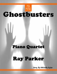 Ghostbusters Piano Quartet