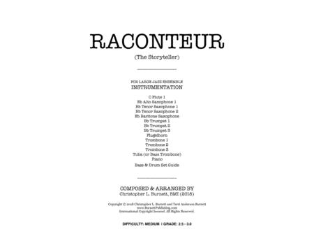 RACONTEUR (The Storyteller) - Score