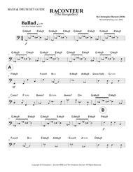RACONTEUR (The Storyteller) - Bass & Drum Set