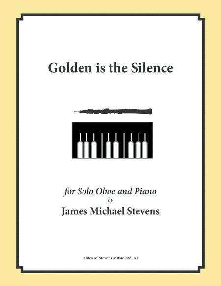Golden is the Silence - Oboe & Piano