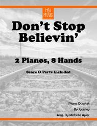 Don't Stop Believin' (Piano Quartet)