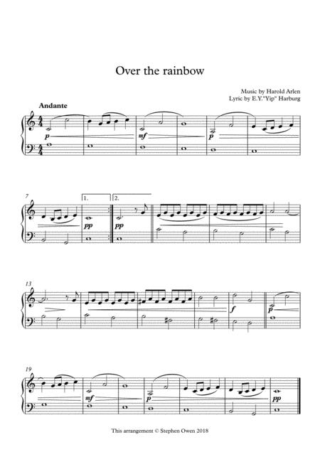 Over The Rainbow (from The Wizard Of Oz)