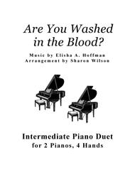 Are You Washed in the Blood? (2 Pianos, 4 Hands Duet)