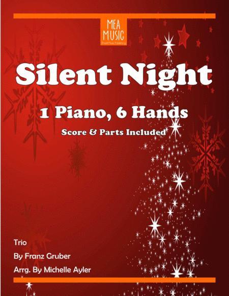 Silent Night Trio (1 Piano, 6 Hands)