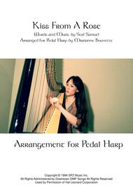 Kiss From A Rose (Seal) arrangement for Pedal Harp
