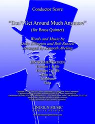 Don't Get Around Much Anymore (for Brass Quintet)