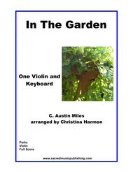 In The Garden– One Violin and Keyboard