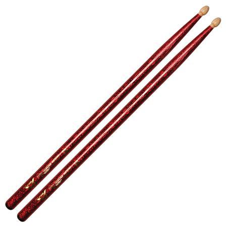Color Wrap 5B Red Sparkle Drum Sticks