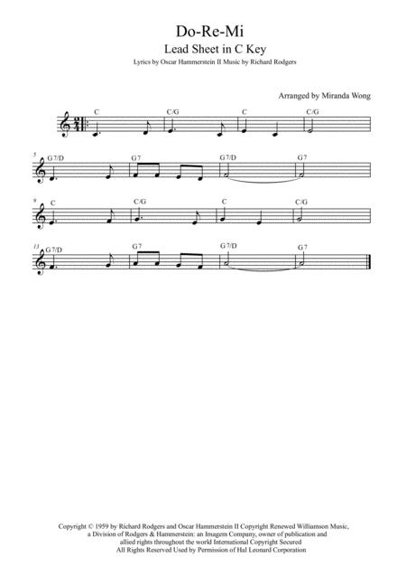 Do-Re-Mi - Violin Solo in C Key (With Chords)