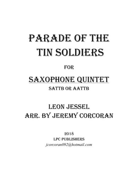 Parade of the Tin Soldiers for Saxophone Quintet