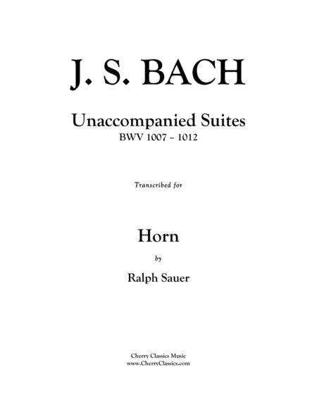 Unaccompanied Suites for Horn