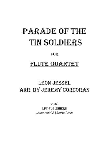 Parade of the Tin Soldiers for Flute Quartet