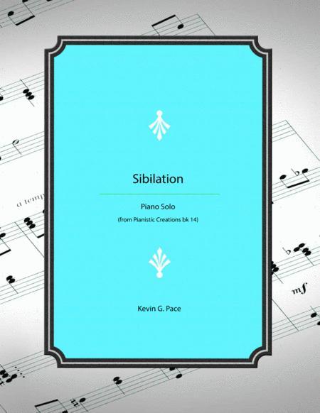 Sibilation - original piano solo