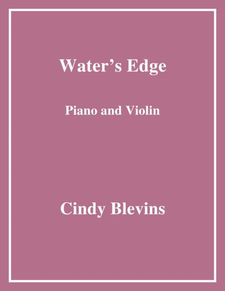 Water's Edge, arranged for Piano and Violin