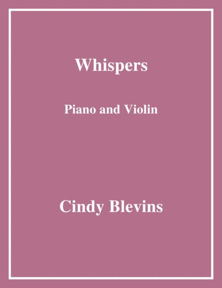 Whispers, for Piano and Violin
