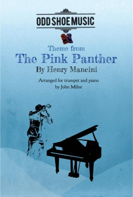 The Pink Panther from THE PINK PANTHER for trumpet and piano