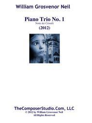 Piano Trio No.1 for piano, violin, and 'cello