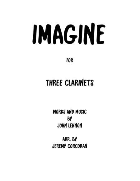 Imagine for Three Clarinets