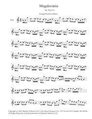 MEGALOVANIA (Easy key of C) - Flute