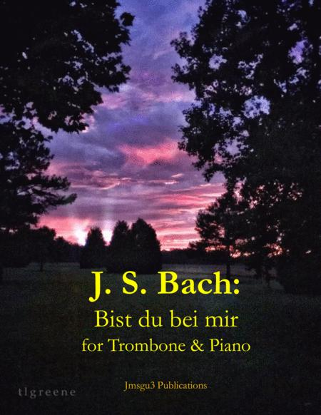 Preview Bach: Bist Du Bei Mir BWV 508 For Trombone & Piano