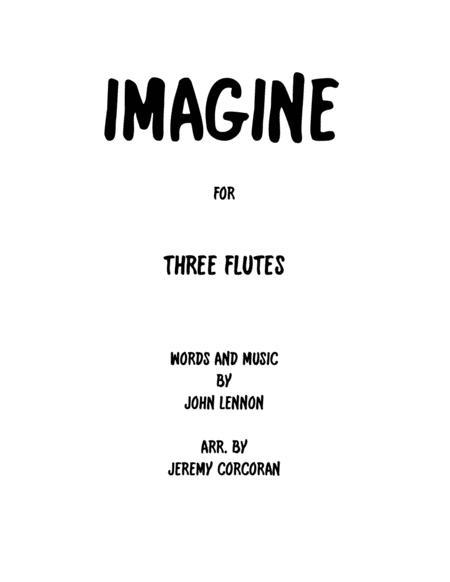 Imagine for Three Flutes