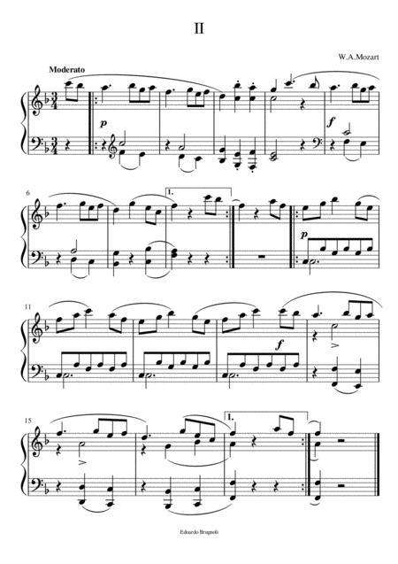 Valzer II - W.A.Mozart