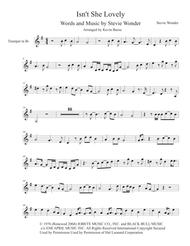 Download Isnt She Lovely Harmonica Solo Easy Key Of G Trumpet