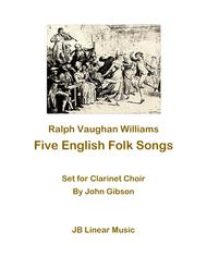 5 English Folk Songs for Clarinet Choir