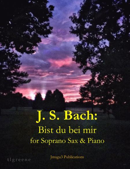 Bach: Bist du bei mir BWV 508 for Soprano Sax & Piano