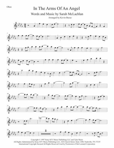 Angel (Original key) Oboe
