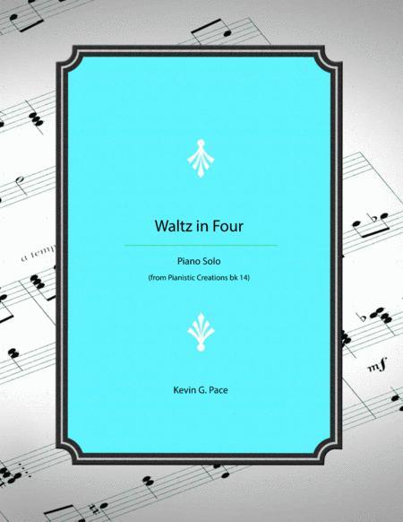 Waltz in Four - original piano solo