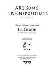 La Grotte (G minor)