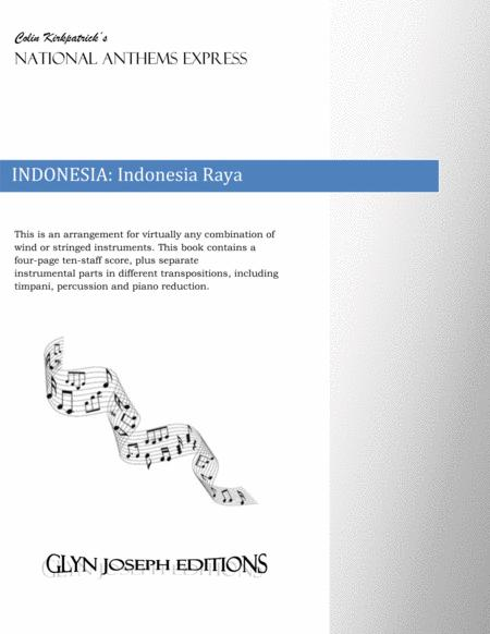Indonesia National Anthem: Indonesia Raya