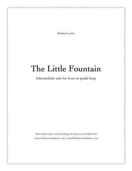 The Little Fountain – solo lever or pedal harp