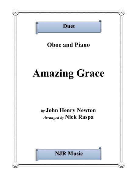 Amazing Grace (duet) - Oboe and Piano - Full Set