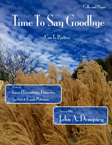 Time To Say Goodbye (Cello and Piano Duet)