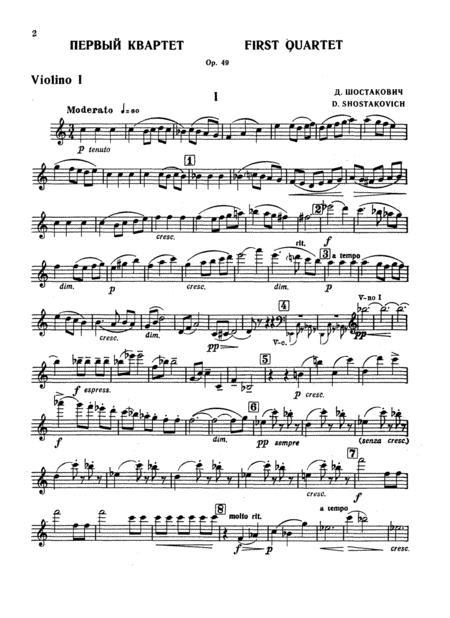String Quartet No. 1, Op. 49