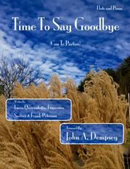Time To Say Goodbye (Flute and Piano Duet)