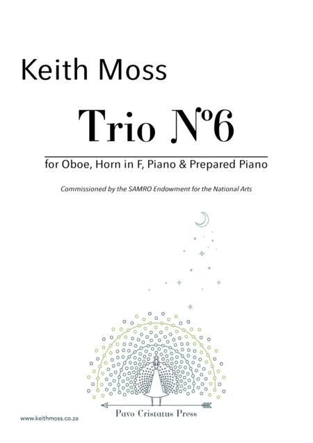 Trio Nº6 - for Oboe, Horn, Piano & Prepared Piano