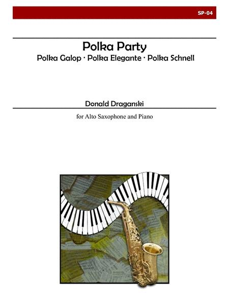 Polka Party for Alto Saxophone and Piano