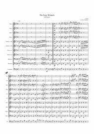 Scott Joplin: The Easy Winners (Rag) - wind dectet (and bass)