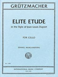 Elite Etude in the Style of Jean-Louis Duport